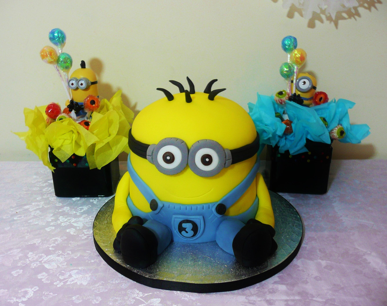 Walmart minions birthday cake