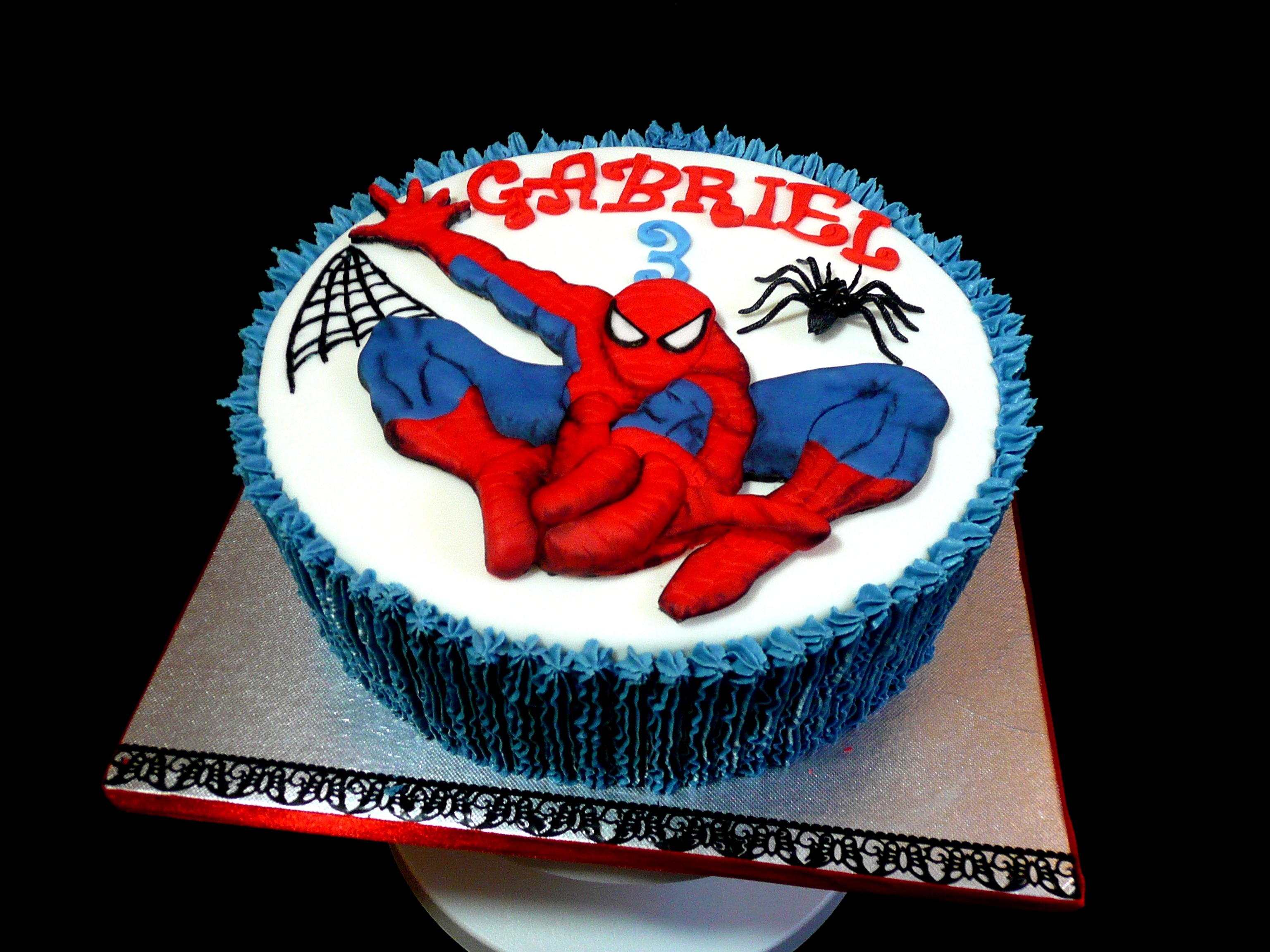 Birthday Cake Ideas Spiderman : Spiderman Cake Ideas and Designs